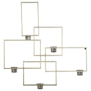 Signature Design by Ashley Wall Art Drucilla Gold Finish Wall Sconce
