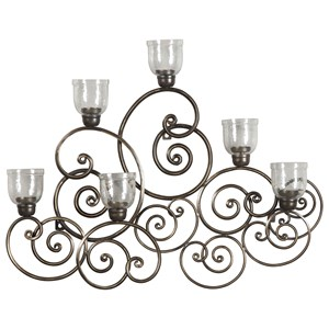 Signature Design by Ashley Wall Art Durin Dark Bronze Finish Wall Sconce