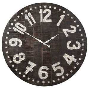 Brone Black/White Wall Clock