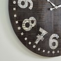 Signature Design by Ashley Wall Art Brone Black/White Wall Clock