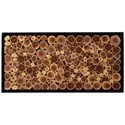 Signature Design by Ashley Wall Art Jonford Wood Slice Wall Decor - Item Number: A8010182