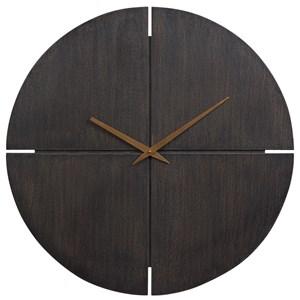 Pabla Black Wall Clock