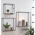 Signature Design by Ashley Wall Art Efharis Wall Shelf Set - Item Number: A8010248