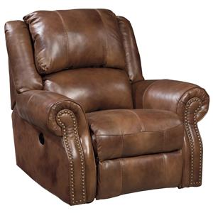Signature Design by Ashley Walworth Power Rocker Recliner