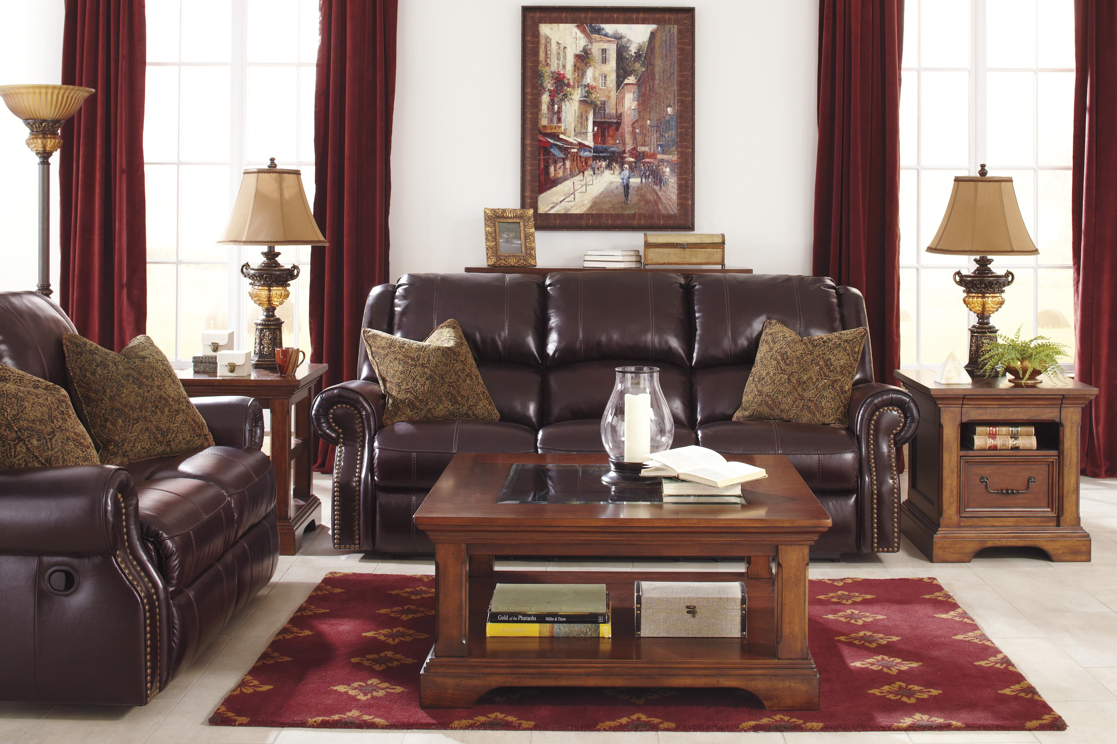 Signature Design by Ashley Walworth Reclining Living Room Group - Item Number: U78002 Living Room Group 2