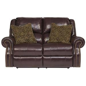 Signature Design by Ashley Walworth Reclining Power Loveseat