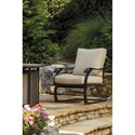 Signature Design by Ashley Wandon Set of 4 Outdoor Spring Lounge Chairs