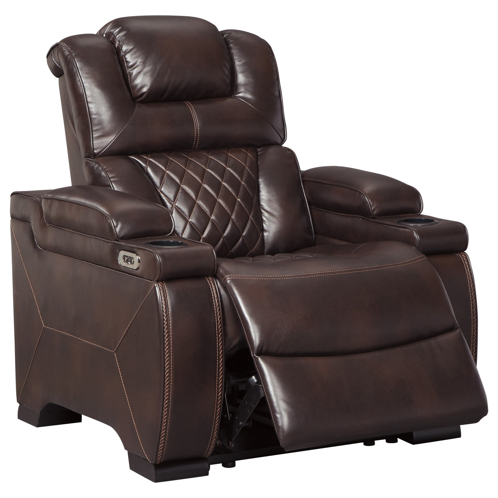 Signature Home Furniture: Signature Design By Ashley Warnerton Power Recliner With