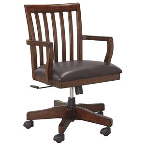 Signature Design by Ashley Wassner Home Office Swivel Desk Chair