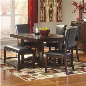 Signature Design by Ashley Watson  6 Piece Dining Table Set