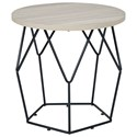 Signature Design by Ashley Waylowe Round End Table - Item Number: T274-6