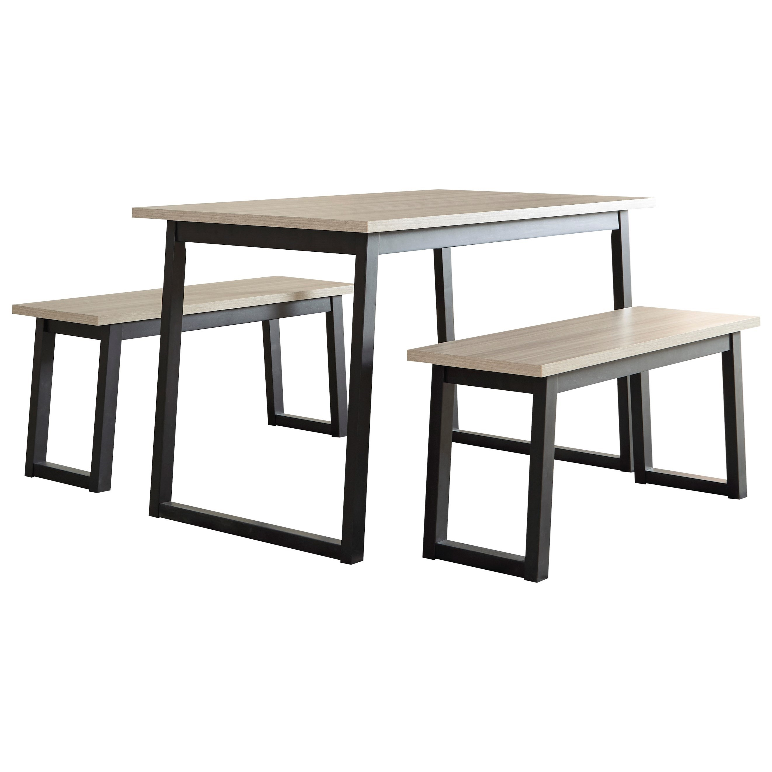Waylowe Rectangular Table Set by Signature Design by Ashley at Sparks HomeStore