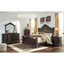 Signature Design by Ashley Wellsbrook California King Bedroom Group - Item Number: B806 CK Bedroom Group