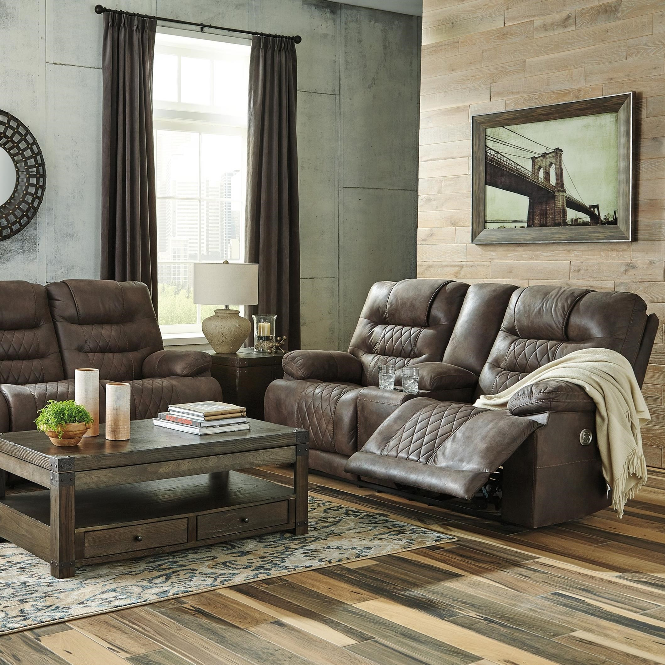 Signature Design By Ashley Welsford Power Reclining