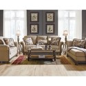 Signature Design by Ashley Westerwood Stationary Living Room Group - Item Number: 49601 Living Room Group 2