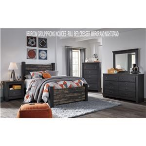 Signature Design by Ashley Westinton Full Bedroom Group