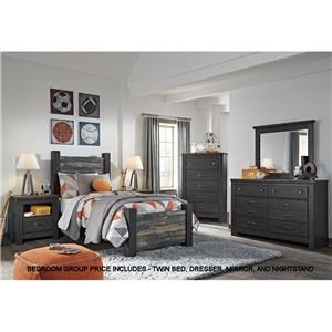 Signature Design by Ashley Westinton Twin Bedroom Group 3