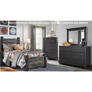 Signature Design by Ashley Westinton Twin Bedroom Group 4