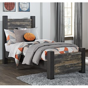 Signature Design by Ashley Westinton Twin Poster Bed