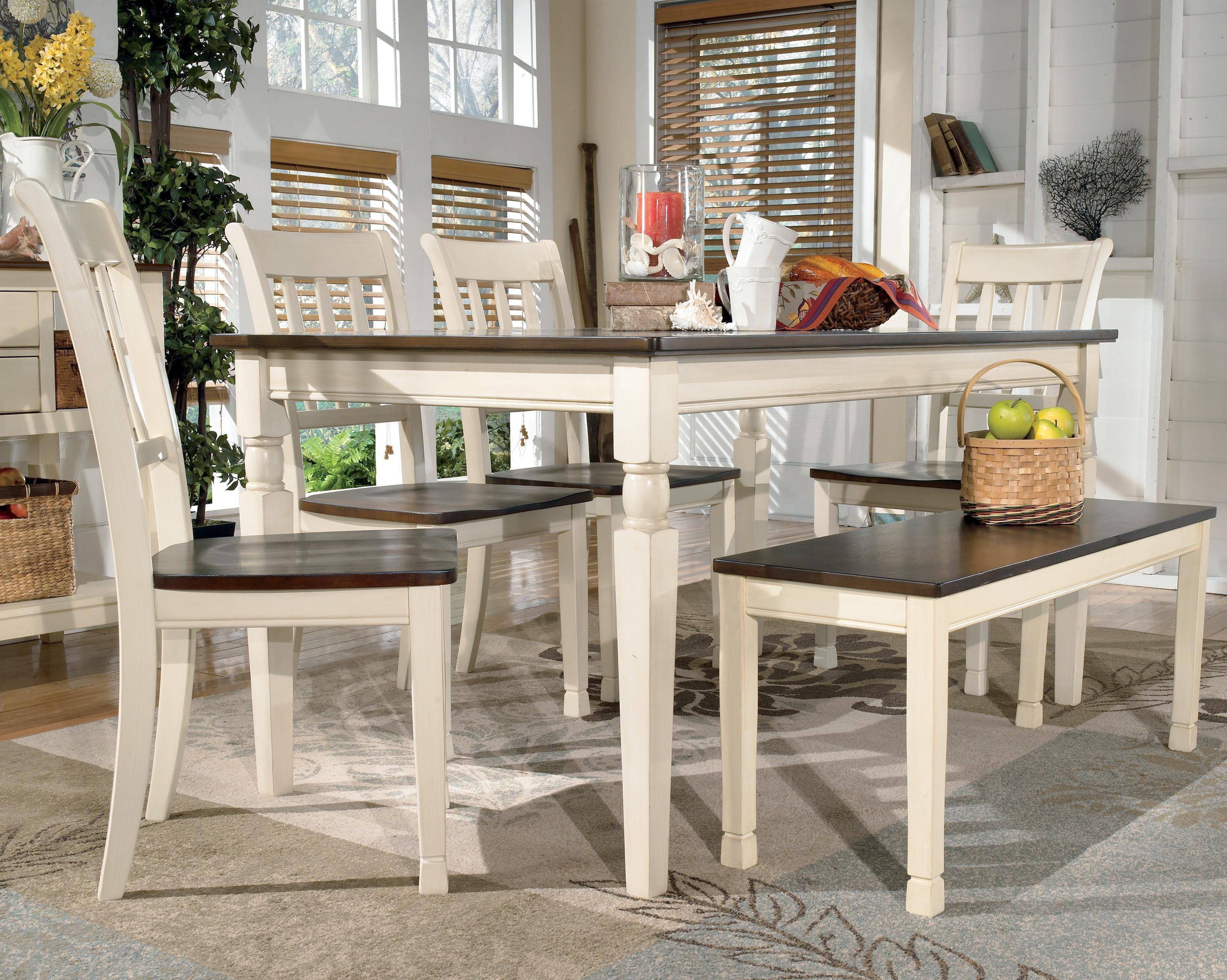 Ashley S Nest Decorating A Dining Room: Signature Design By Ashley Whitesburg Rectangular Dining