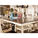 Signature Design by Ashley Whitesburg 9-Piece Square Counter Extension Table Set