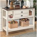 Ashley Signature Design Whitesburg Dining Room Server - Item Number: D583-59