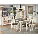 Signature Design by Ashley Whitesburg Two-Tone Dining Room Server