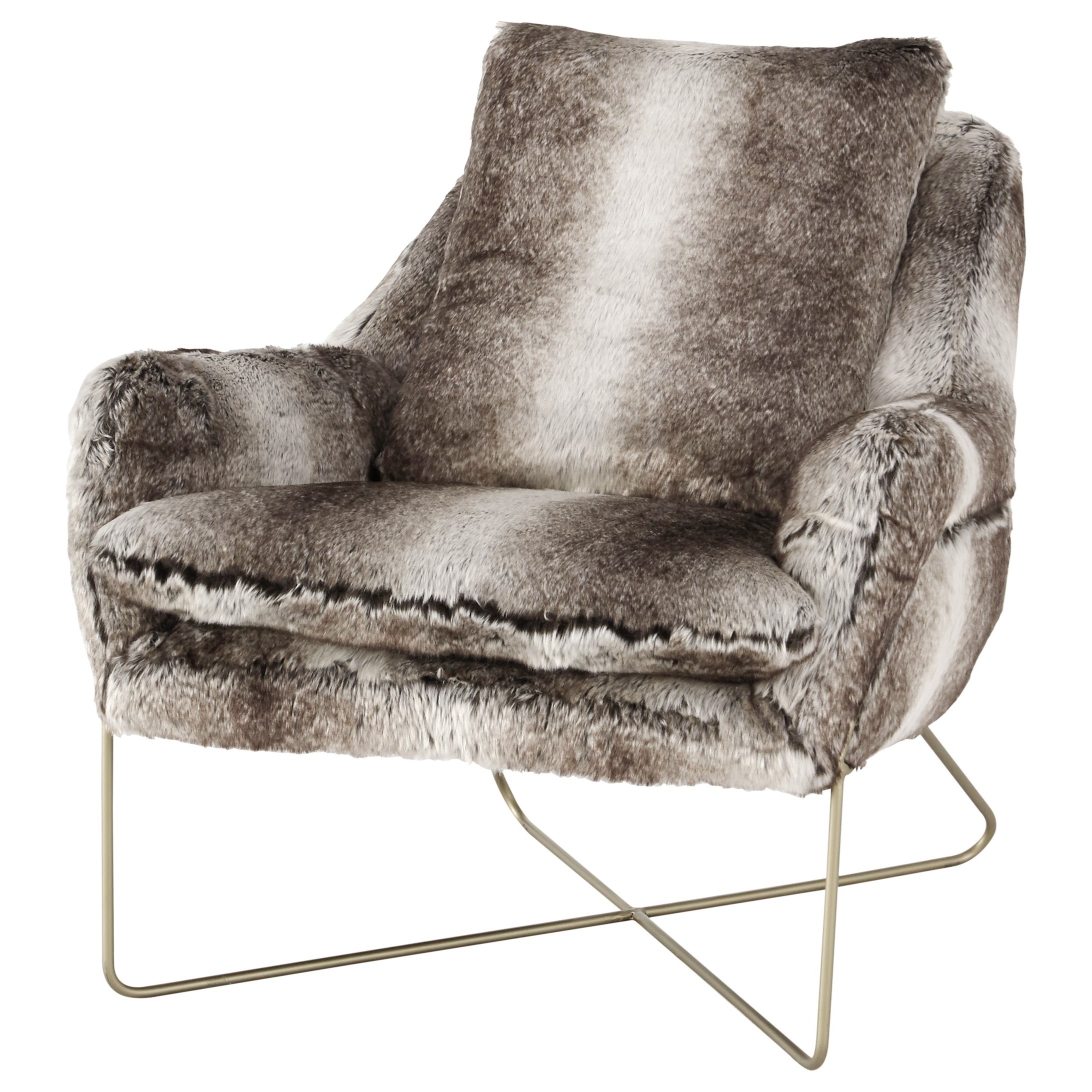 Ashley Signature Design Wildau A3000054 Faux Fur Accent