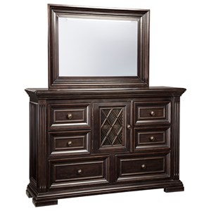 Signature Design by Ashley Willenburg Dresser & Bedroom Mirror