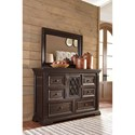 Signature Design by Ashley Willenburg Transitional Bedroom Mirror