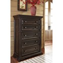 Signature Design by Ashley Willenburg Transitional Five Drawer Chest