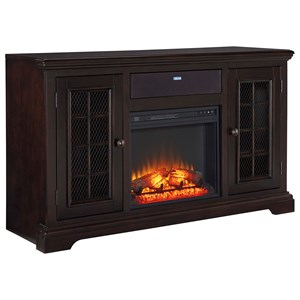 Signature Design by Ashley Furniture Willenburg Large TV Stand with Fireplace Insert