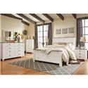 Signature Design by Ashley Willowton Queen Bedroom Group - Item Number: B267 5PC