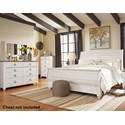 Signature Design by Ashley Willowton King Bedroom Group - Item Number: B267 K Bedroom Group 5