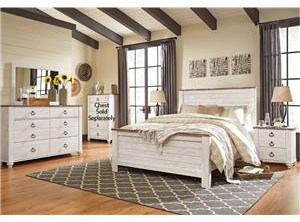 Signature Design by Ashley Willowton Willowton Queen 6-Piece Bedroom Group