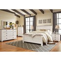 Signature Design by Ashley Willowton Queen Bedroom Group - Item Number: B267 Q Bedroom Group 2