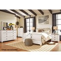 Signature Design by Ashley Joanna Queen Bedroom Group - Item Number: B267 Q Bedroom Group 4