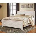 Signature Design by Ashley Joanna King Panel Bed - Item Number: B267-58+56+99