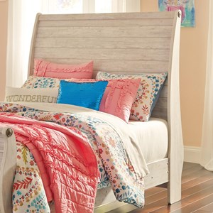 Signature Design by Ashley Willowton Full Sleigh Headboard