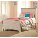 Signature Design by Ashley Willowton Full Panel Bed - Item Number: B267-87+84+86