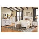 Signature Design by Ashley Willowton Queen Bedroom Group 1 - Item Number: B267
