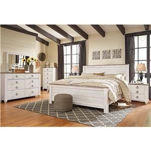 Signature Design by Ashley Willowton King Bedroom Group
