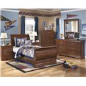 Signature Design by Ashley Wilmington Twin Bedroom Group - Item Number: B178 T Bedroom Group 1