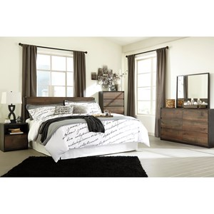 Signature Design by Ashley Windlore King Bedroom Group