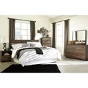 Signature Design by Ashley Windlore King Bedroom Group - Item Number: B320 K Bedroom Group 1
