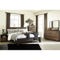 Signature Design by Ashley Windlore King Bedroom Group - Item Number: B320 K Bedroom Group 2