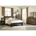 Signature Design by Ashley Windlore Queen Bedroom Group - Item Number: B320 Q Bedroom Group 2