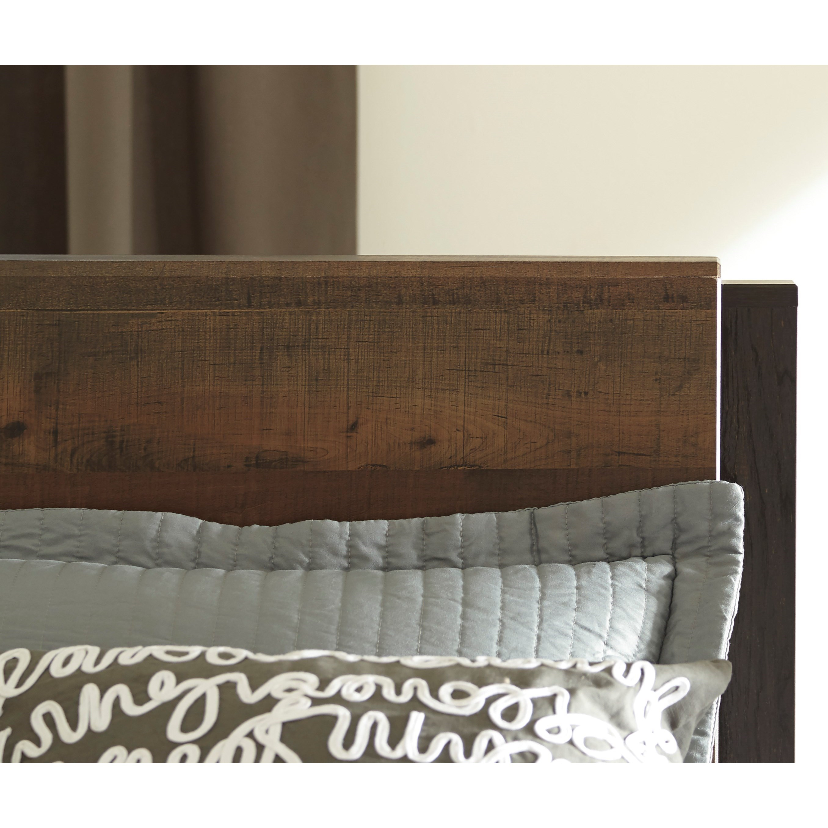 Signature Design By Ashley Windlore Modern Rustic Queen Panel Headboard Royal Furniture
