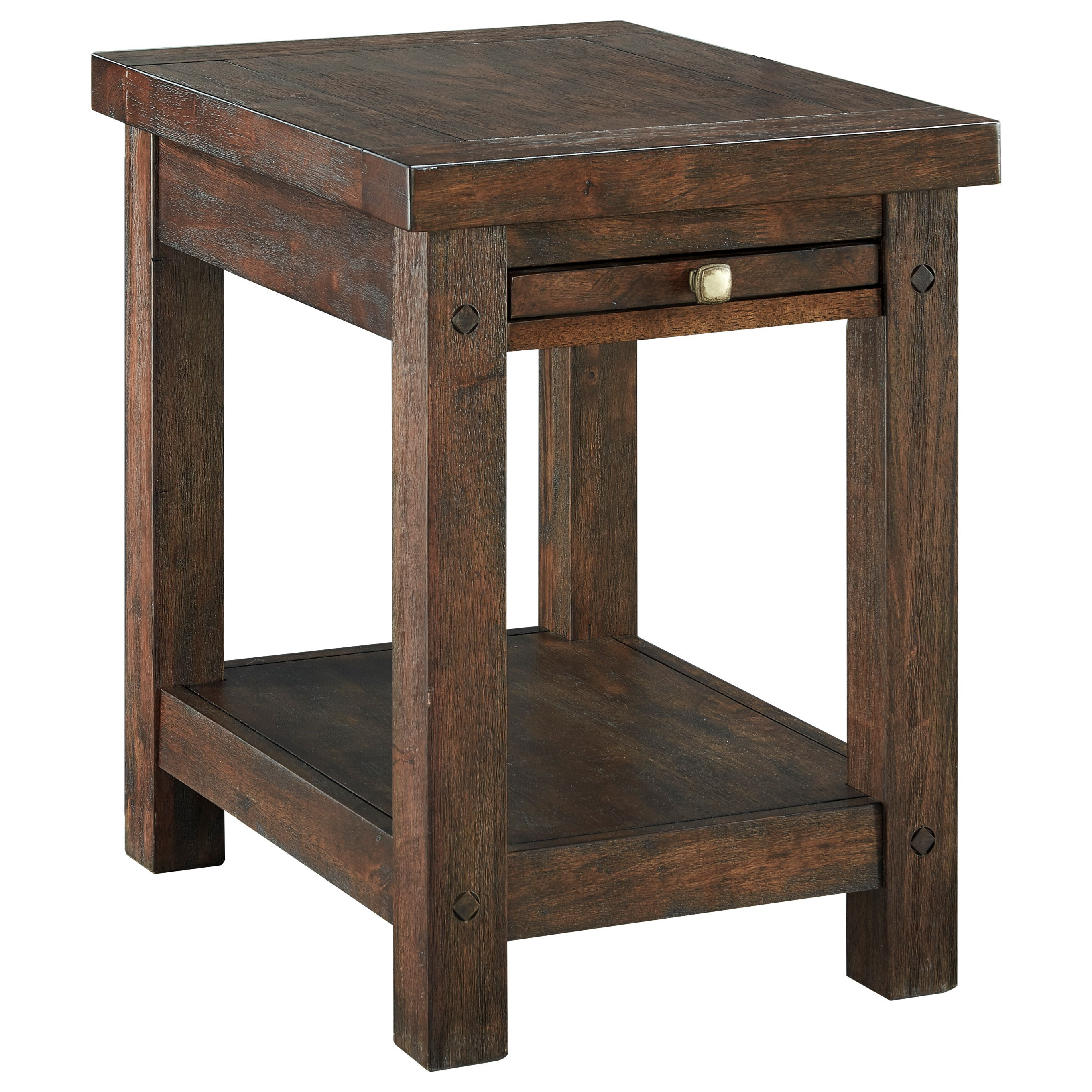 Signature Design by Ashley Windville Chair Side End Table - Item Number: T862-7
