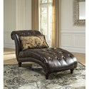 Signature Design by Ashley Winnsboro DuraBlend Traditional Tufted Chaise
